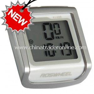 Plastics LCD Temperature Display Waterproof Cycling Computers from China