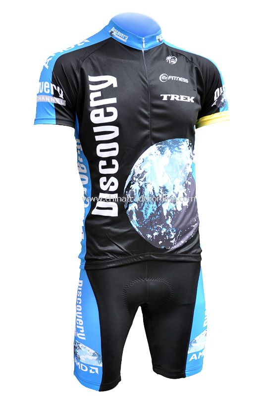 Outdoor sports kits Cycling Jersey short bicycle shirt bike wear suit + pants