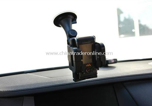 Can rotate chuck type frame tuyere amphibious car phone/GPS navigation