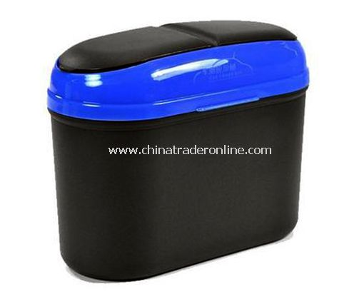 Dual clamshell automotive environmental sundries barrels/car trash can