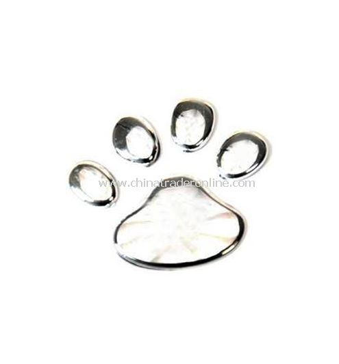 Personality bear claws 3 d decorative sticker - plating