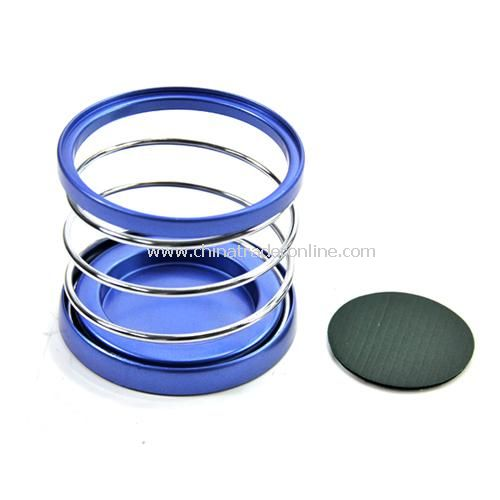Car spring drink holder mobile phone frame color random from China