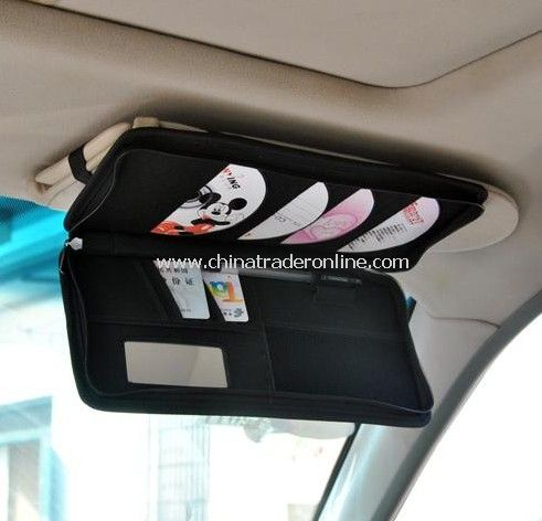 Car visor bag / CD folder / purse