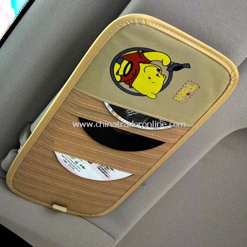 Cartoon car sun visor 12 CD folder