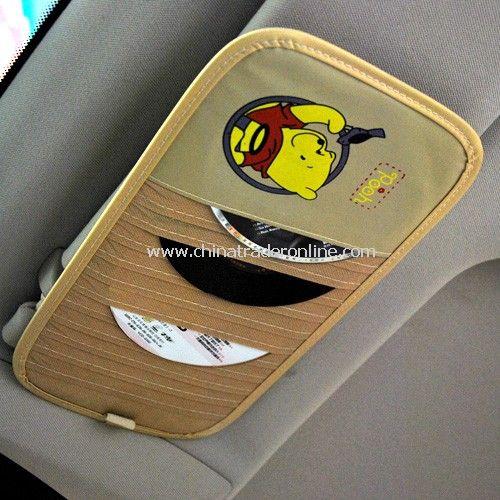 Cartoon car sun visor 12 CD folder from China