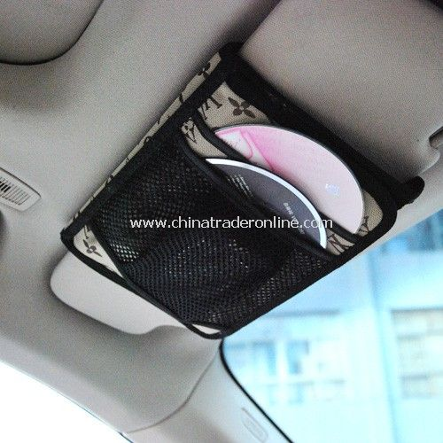 Level car visor double high-capacity 100 Bag / storage bag