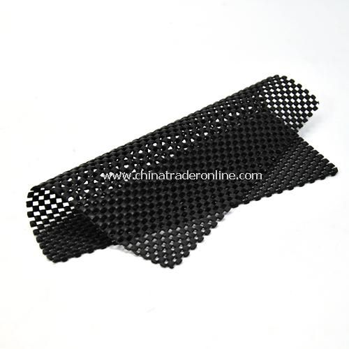 Square car with bubble non-slip pad - Black from China