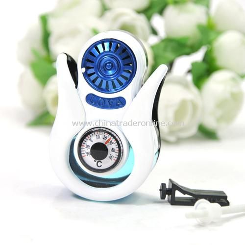 Vehicle with a thermometer air-conditioning outlet seat perfume / perfume bottles (love)