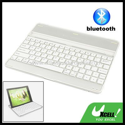 White Wireless bluetooth Keyboard for Apple iPad 1 2nd 3rd Generation PC