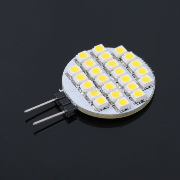 24-SMD 3528 LED Light Bulb Lamp 12V Warm white from China