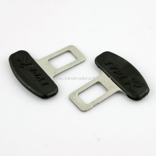 2pcs Universal Metal Safety Seat Belt Buckles for Car