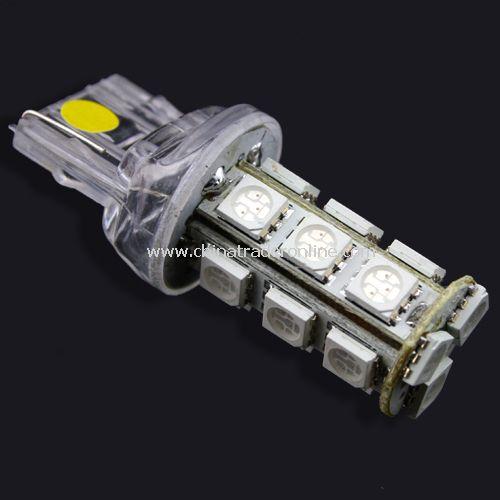 7443 7440 T20 18 LED 5050 SMD Tail Brake Light Bulb Yellow