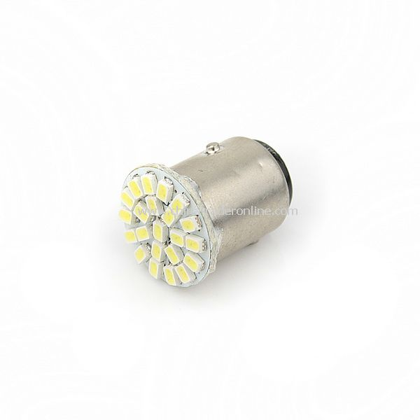 Car 1157 Tail Brake White 22-SMD LED Light Bulb Lamp