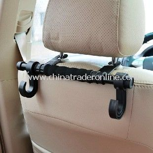 Durable Plastic Vehicle-Mounted Car Seat Coat Hanger