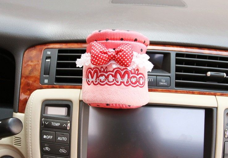 Fashion Velvet Front Vehicle Mounted Cup Bottle Holder from China