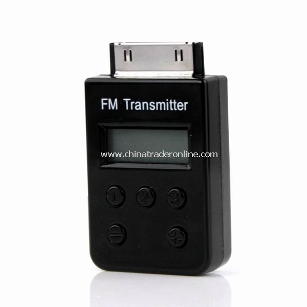 FM Transmitter Remote Car Charger for iPod Touch iPhone 3GS 4G