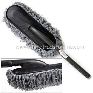 Microfiber Wax Brush Long Handle Car Duster from China