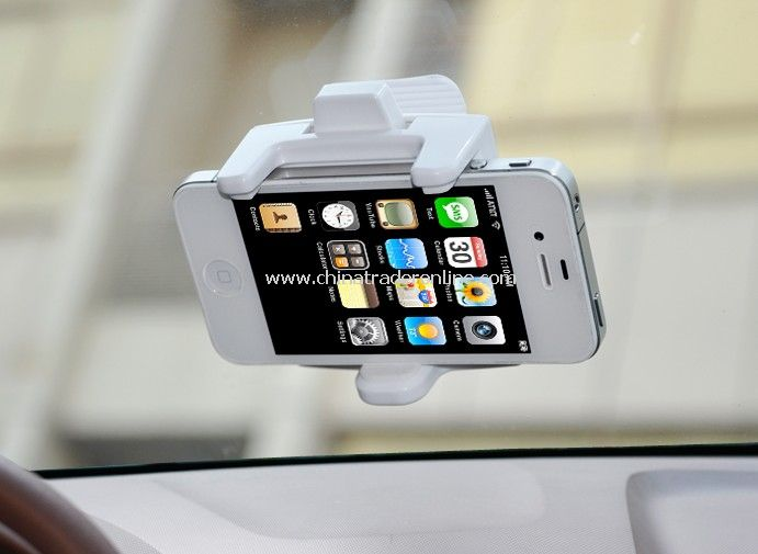 Multifunction Air Conditioning Vent Plastic Headset Cell Phone Holder