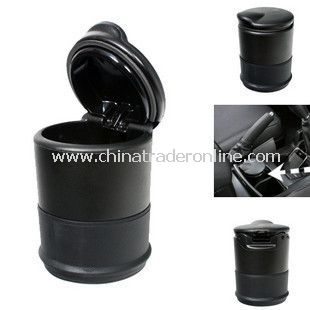 Portable Auto Car Travel Cigarette Ashtray Holder Black