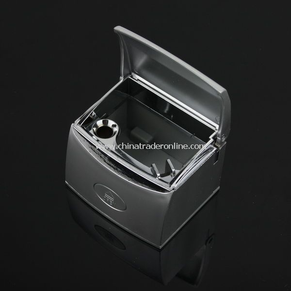 Portable Car Cigarette Ashtray Holder Black from China