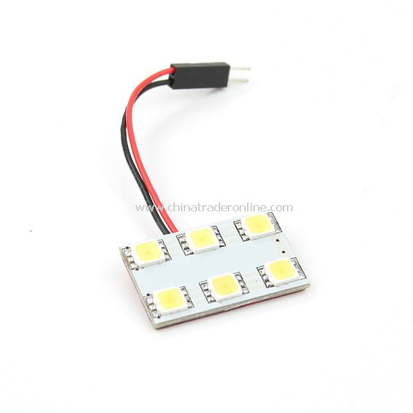 Replacement Car Roof 6 SMD LEDs 5252 Light Lamp Bulb White