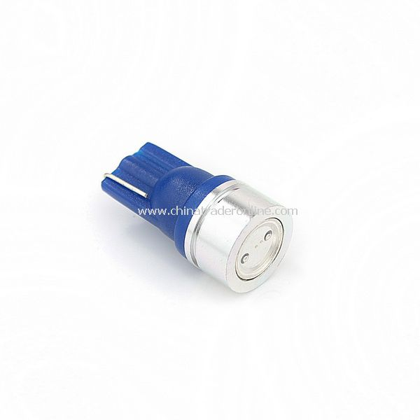 T10 12V 1W 40.5 Lumens Blue Light LED Bulb for Car Vehicle Headlamp Rear Lamp Turn Signal