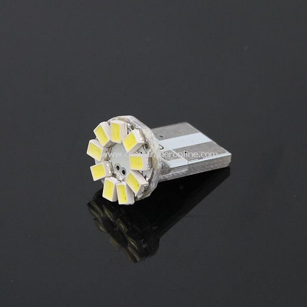 T10 SMD 3020 9-LED Lamp Bulb Light for Car Vehicle Automobile - White Light