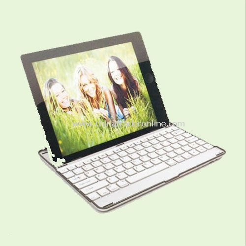 ALUMINUM CASE WIRELESS BLUETOOTH KEYBOARD FOR IPAD 2