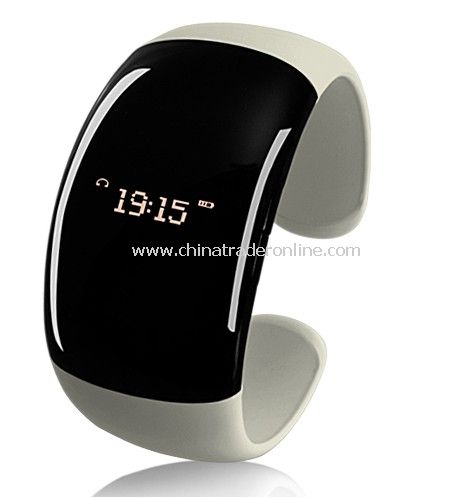 Ladies Bluetooth Fashion Bracelet with Time Display (Call/Distance Vibration, Caller ID)