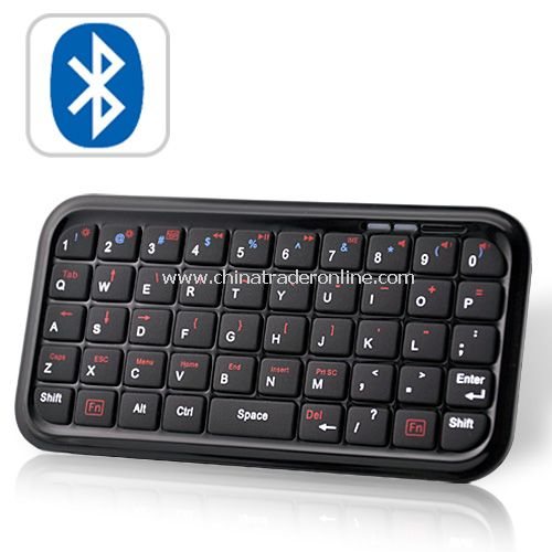 MINI BLUETOOTH KEYBOARD FOR SMARTPHONES, IPAD, IPHONE, PS3, MORE