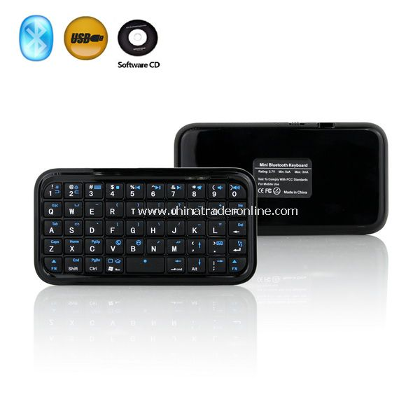 Wireless Bluetooth Keyboard for Mac PC PDA IPAD Smart Phone
