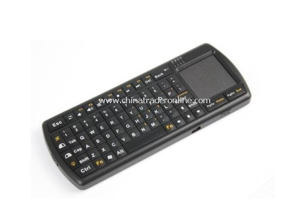 Wireless Bluetooth Mini micro keyboard with touchpad