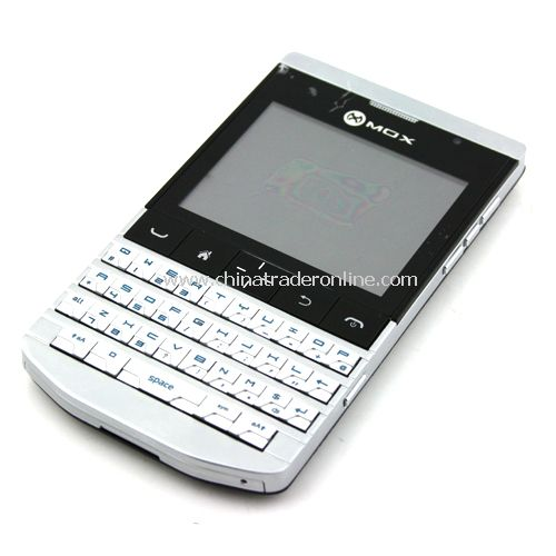 9981 Unlocked Phone Dual SIM 2.5 inch Touch Screen QWERTY Keyboard Analog TV with FM Bluetooth Phone from China