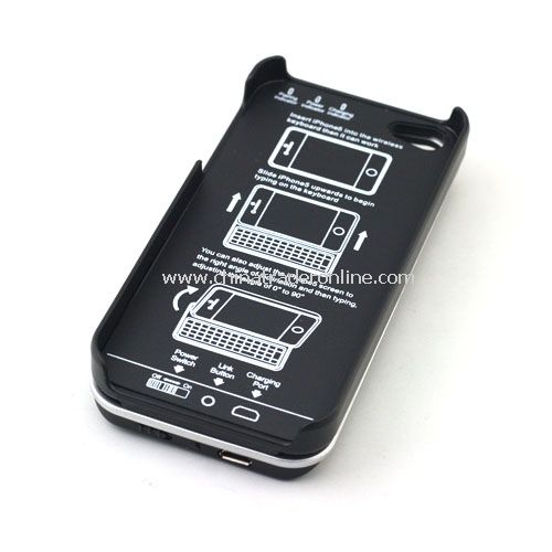 New Bluetooth Sliding Keyboard and Hardshell Case for iPhone 5
