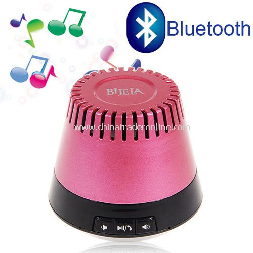 Pink Bluetooth speaker Bei Bei AUX audio input lithium battery calls mini portable speaker