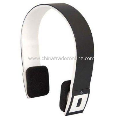 Wireless Bluetooth 3.0 Audio Headset - 2 Channel Stereo, Built-in Controls from China