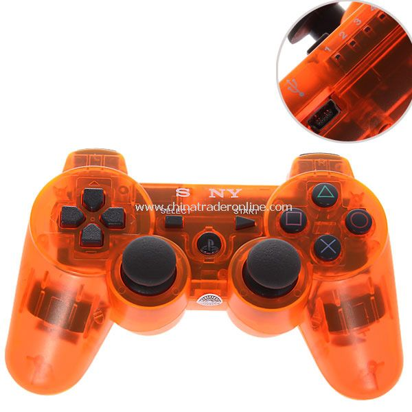 Bluetooth Dual Shock3 Wireless Controller Rechargeable Joypad for PlayStation 3