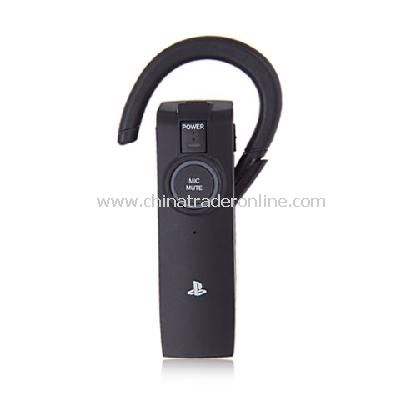 Bluetooth Handsfree Headset for PS3 - Black (8-Hour Talk/300-Hour Standby)