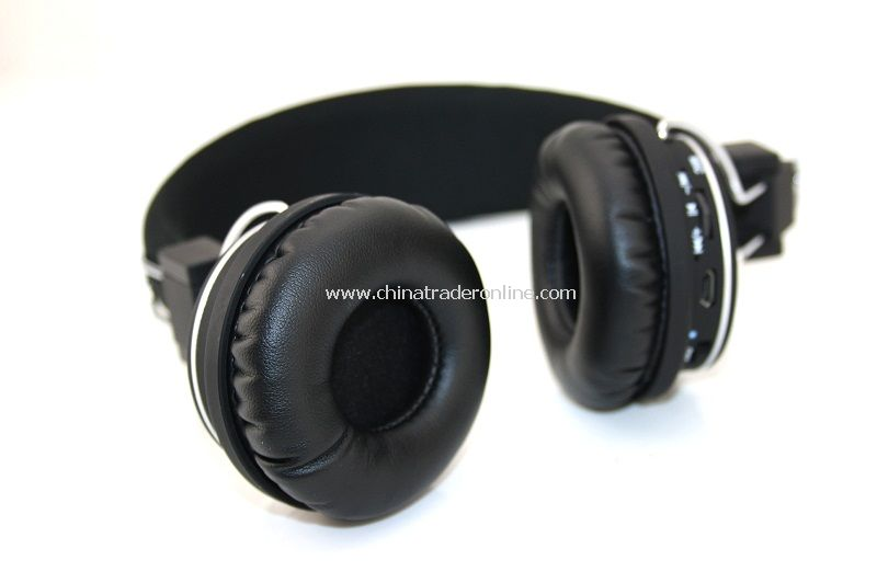 Hands-free Wireless Stereo Bluetooth V2.1 +EDR Headset Earphone with MIC