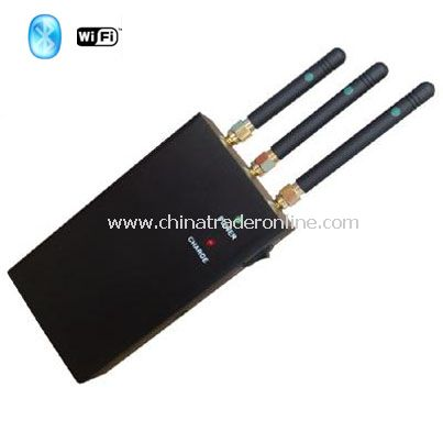 WIFi+Bluetooth signal jammers from China