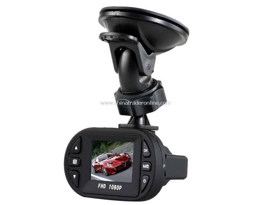 1.5 TFT 1080P HD Car DVR Record Cam With G-sensor/12 LED IR Night Vision New