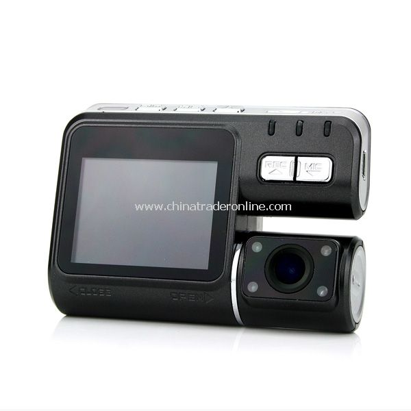Black 2.0 LCD IR LED Night Vision 720P Car DVR Camera Recorder G-Sensor