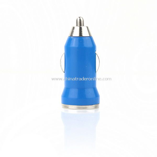 Mini Car Charger Adaptor for iPhone 3G 3GS 4G Blue