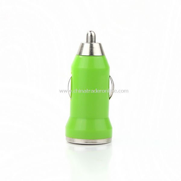 Mini Car Charger Adaptor for iPhone 3G 3GS 4G Green