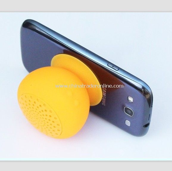 Suction-cup bluetooth speaker for iphone ipad, samsung mobile phones