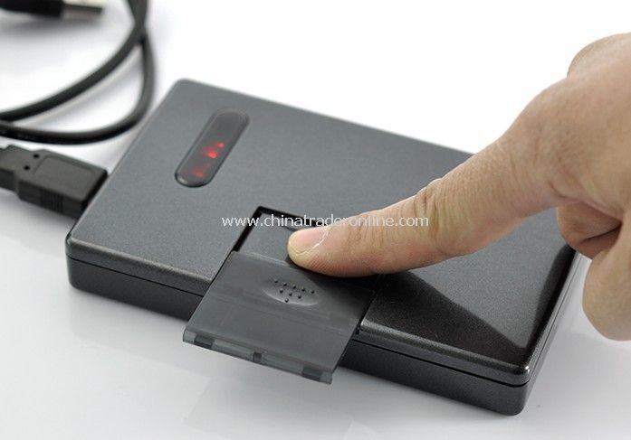 Fingerprint Locked 2.5 Inch SATA HDD Enclosure