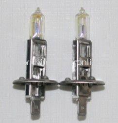 2 Pcs Halogen Xenon H1 12V 55W Golden Yellow Fog Light Bulbs 3000K