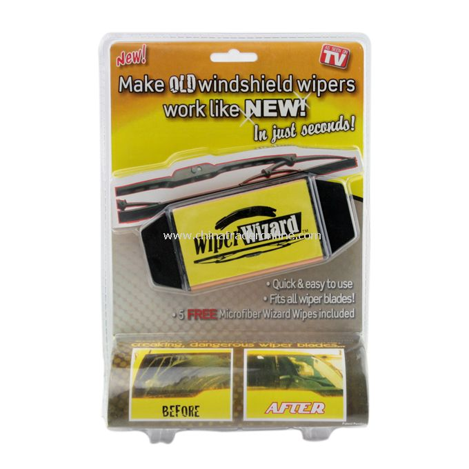 As Seen On TV - Wiper Wizard Windshield Wiper Blade Restorer