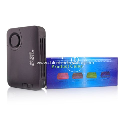 Car Air Purifier Active Carbon Nano Photocatalyst Anion Ozone Generator PURPLE