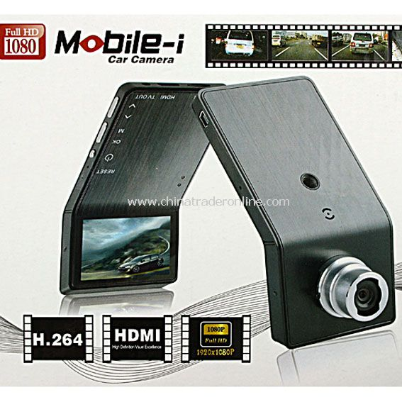 NEW FULL HD 1080P Vehicle Car DVR TFT Camera CAM HDMI Mobile-i Black box DV